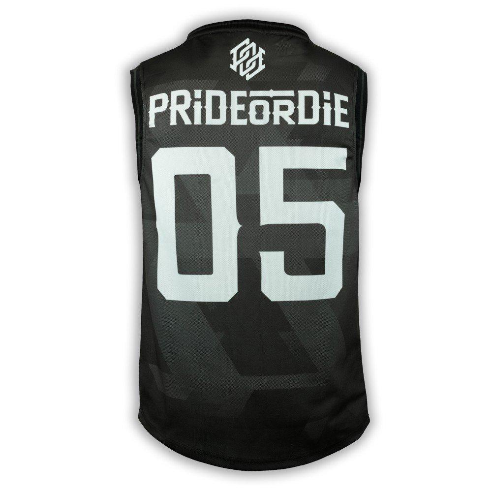 Pride or Die Jersey Dark Matter MMA Muay Thai Tee Kickboxen Fitness Gym