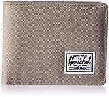 Herschel Supply Co. Men's Roy Rfid Wallet, Light Khaki Crosshatch Rfid, One Size
