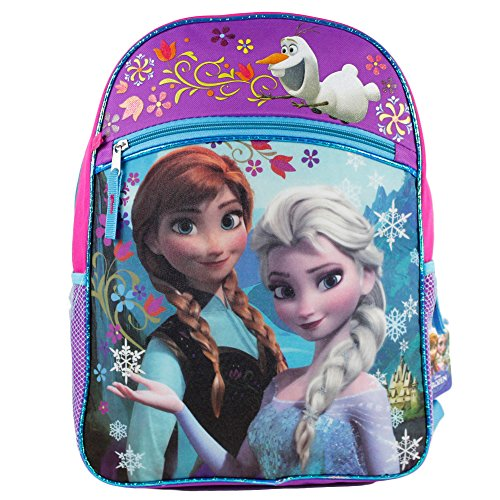 Disney Frozen Girls Large Backpack