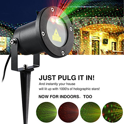 Outdoor Laser Twinkle Lights - 5