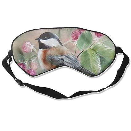 HOJIKD - Máscara de Dormir de Seda de Morera y Máscara de Sueño y persiana para