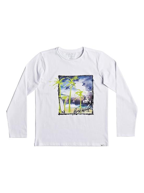 Quiksilver Classic Pihi Wiki - Long Sleeve T-Shirt for Boys EQBZT03685:  Quiksilver: Amazon.co.uk: Clothing