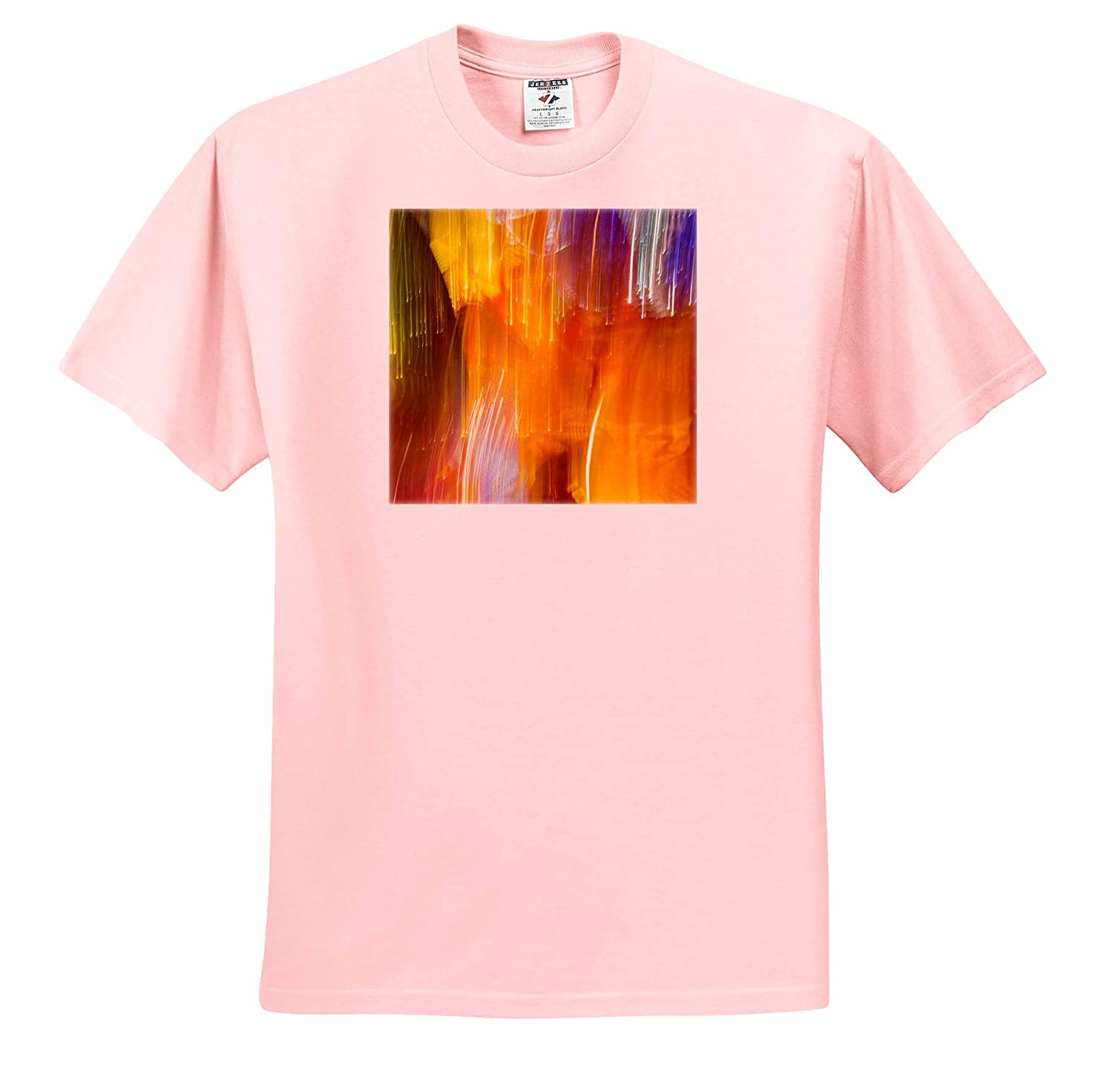 - Adult T-Shirt XL Colorful Glass with Blur Motion Effect 3dRose Danita Delimont ts/_315189 Abstracts