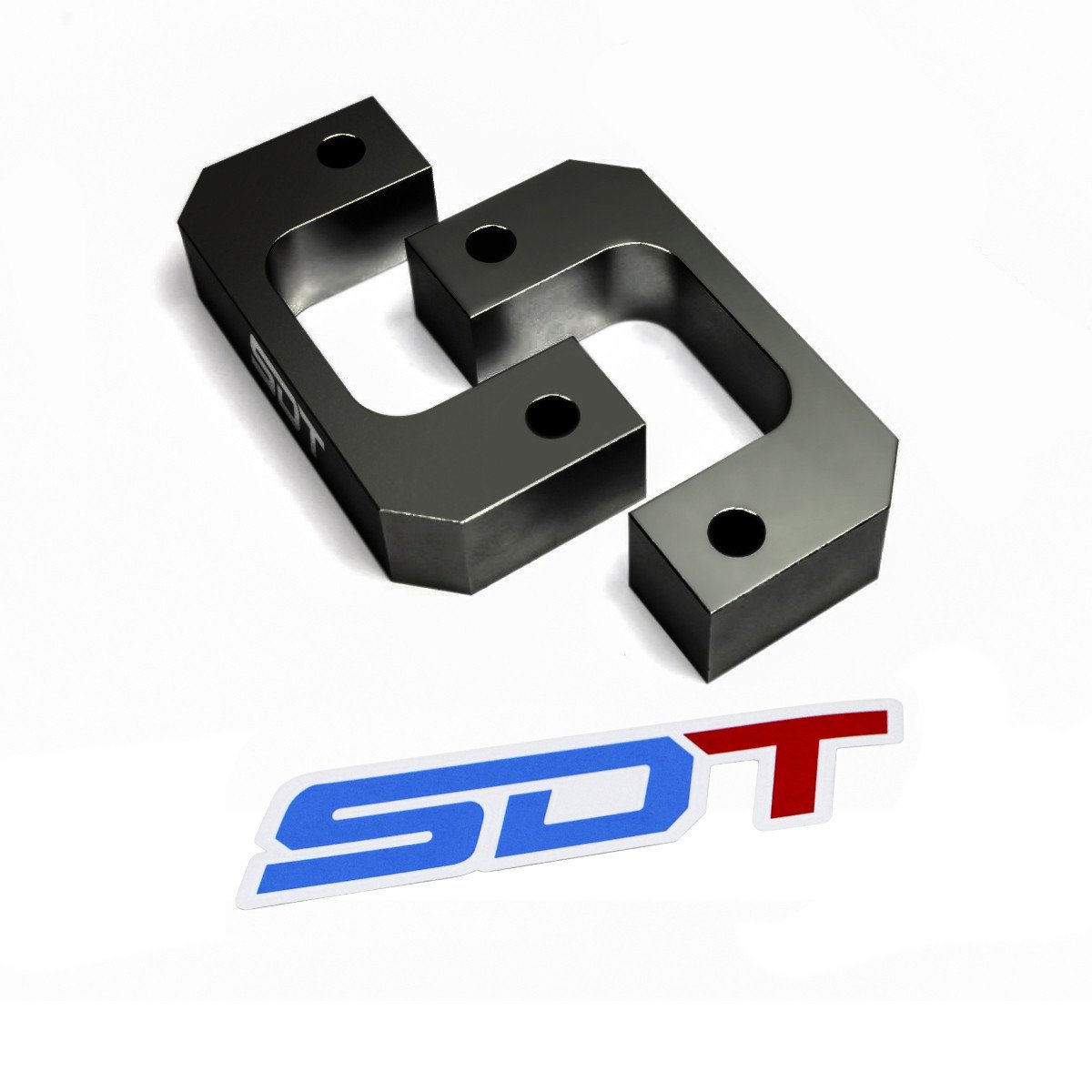 Chevy Silverado GMC Sierra 1500 Front Lower Strut Mount Leveling Lift Kit - 1.5' Front StreetDirtTrack