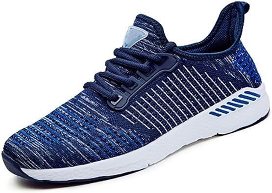 Flying Lisa Zapatillas de Running para Hombre Zapatillas de Deporte Al Aire Libre Transpirable Cómodo Zapatillas Planas Zapatillas Deportivas para Mujer: Amazon.es: Zapatos y complementos
