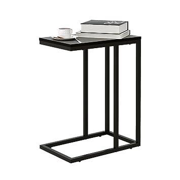 Amazon.com: Snack mesa auxiliar para sofá y cama para sala ...
