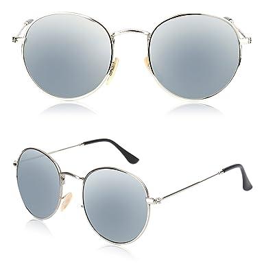 Amazon.com: Kodoos - Gafas de sol unisex (pequeñas, redondas ...