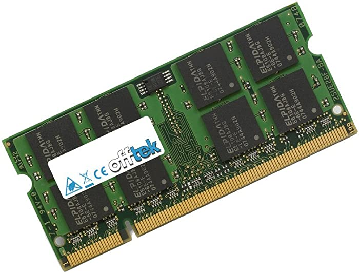 2GB RAM Memory for Acer Aspire One D250 (DDR2-5300) - Netbook Memory Upgrade