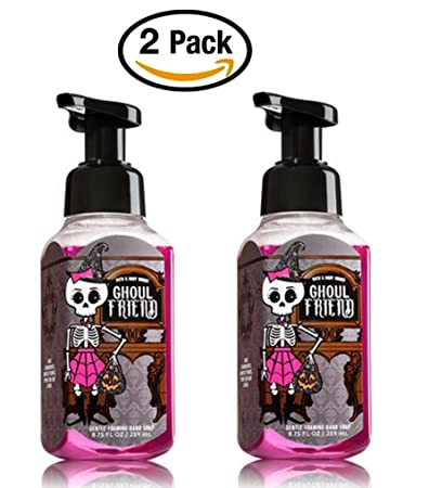 bath and body works ghoul friend gentle foaming hand soap pair of 2 berry