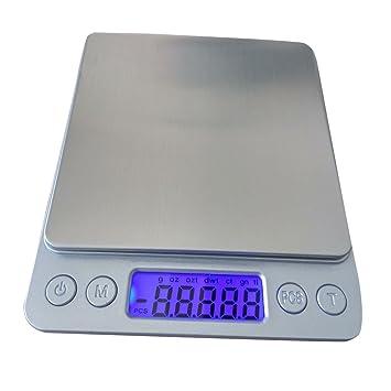woworld bolsillo escala de alimentos pequeños báscula de cocina digital con pantalla LCD de 5 kg