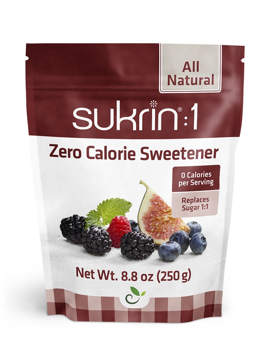Sukrin:1 - All Natural Sugar Substitute - 2 Pack
