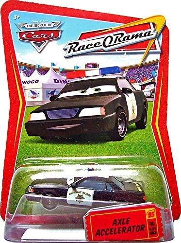 Disney Pixar Cars, Race O Rama Die-Cast Vehicle, Axle Accelerator #58, 1:55 Scale - Lot Disney Cars