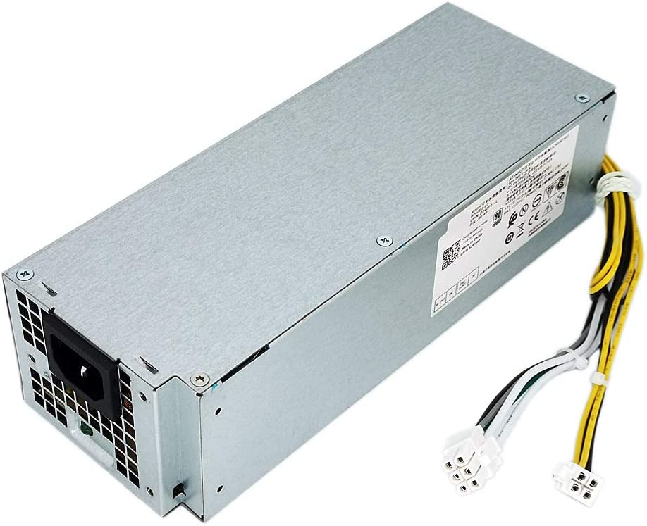ANPBAORE 240W Power Supply Replacement for Dell OptiPlex 3268 3660 3667 3668 3669 3050 5050 7050 7060 MiniTower H240ES-02 J61WF(6Pin + 4Pin Connector)