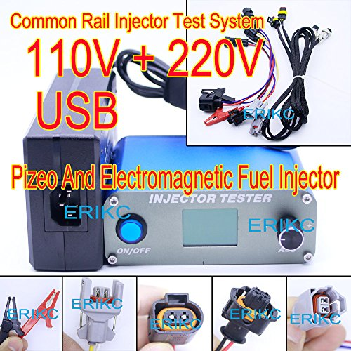 ERIKC Auto Engine Diesel Injector Test Machine And Common Rail Fuel Piezo Injection Nozzle Tester Equipment E1024031 220V & - Common Rail Diesel Engines