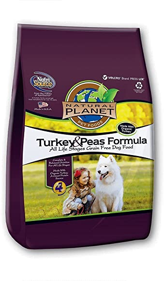 Tuffy S Pet Food 131598 Tuffy Natural Planet Organics Turkey Food For Dogs, 15-Pound