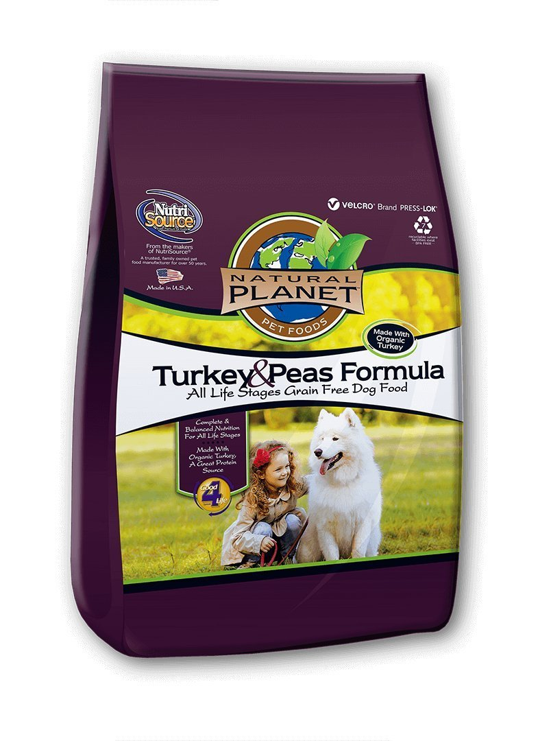 TUFFY'S PET Food 131598 Tuffy Natural Planet Organics Turkey Food for Dogs 15-Pound