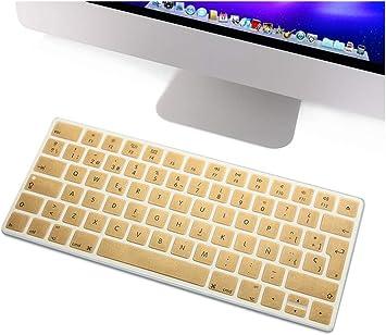 Funda de silicona para teclado español, diseño de euros, para ...