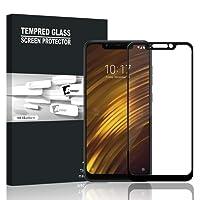 Pelicula de Vidro para Xiaomi Pocophone F1 (Preta)