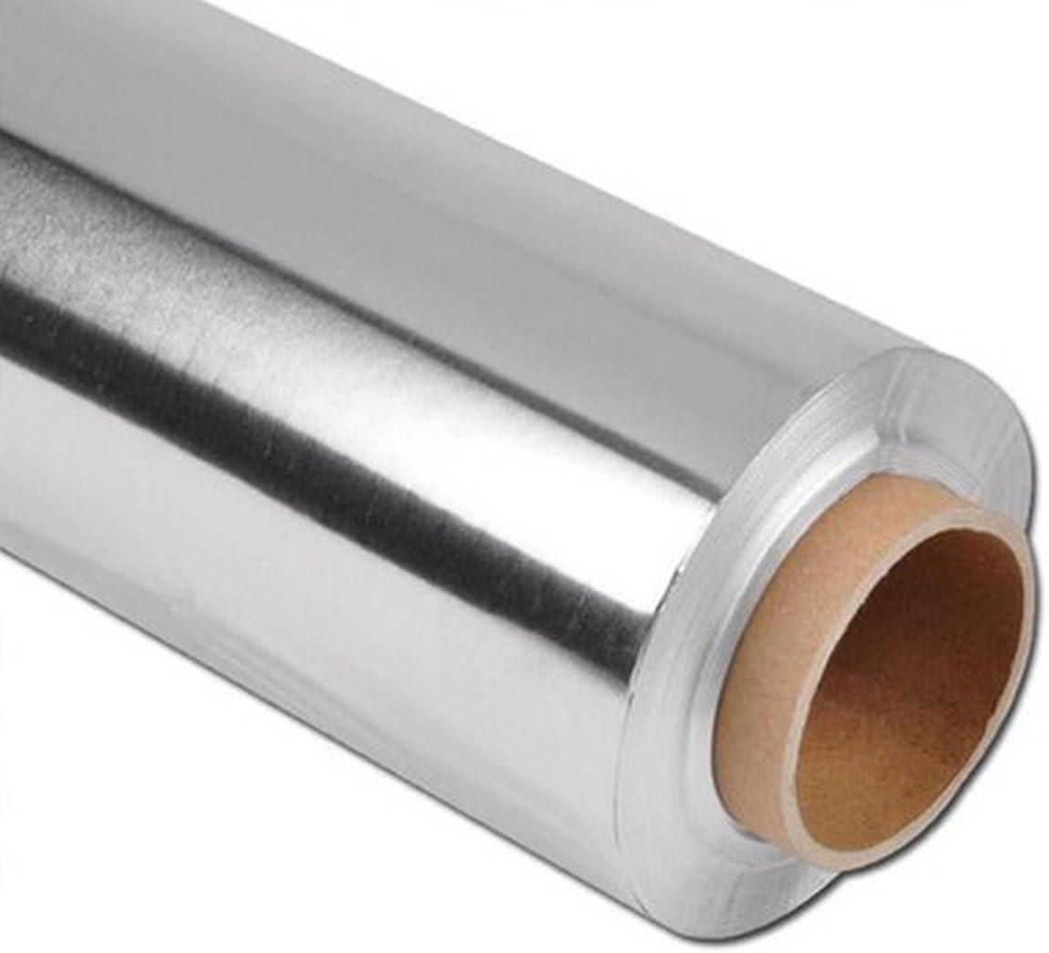 Feuille daluminium 1/kg Super Stark Papier aluminium Alu Rouleau Auto-Bijoux/® 29/cm x 150/m 35/microns Silber