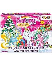 Craze Adventskalender GALUPY eenhoorn speelfiguren prachtige paarden figuren om te spelen + accessoires 19450