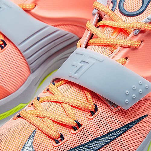 Nike Men's KD VII Thunderbolt Basketball Shoes Bright Mango Space Blue Magnet Grey Volt 840 clearance amazing price get authentic sale online prices for sale perfect cheap price really for sale wErnHePh