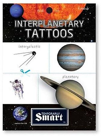59171f440bab8 Amazon.com: Copernicus Temporary Interplanetary Tattoos - 2 Sheets ...