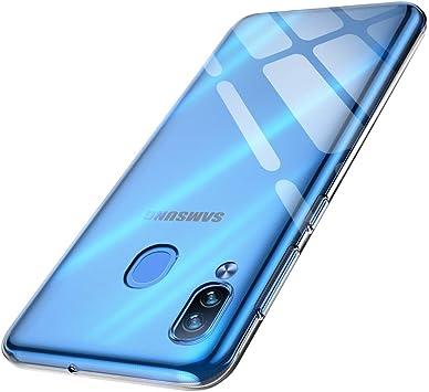 anccer Funda para Samsung Galaxy A20 / A30, Silicona Transparente ...
