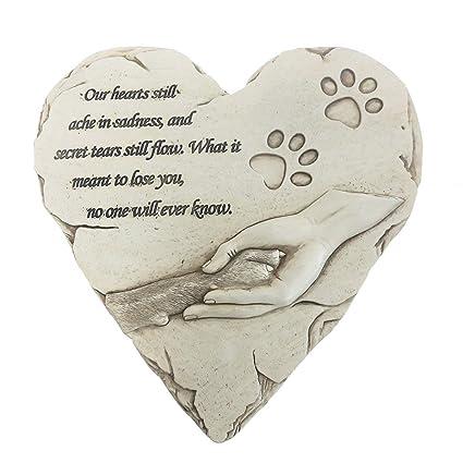 Amazon.com: HM - Piedra conmemorativa para mascotas con ...