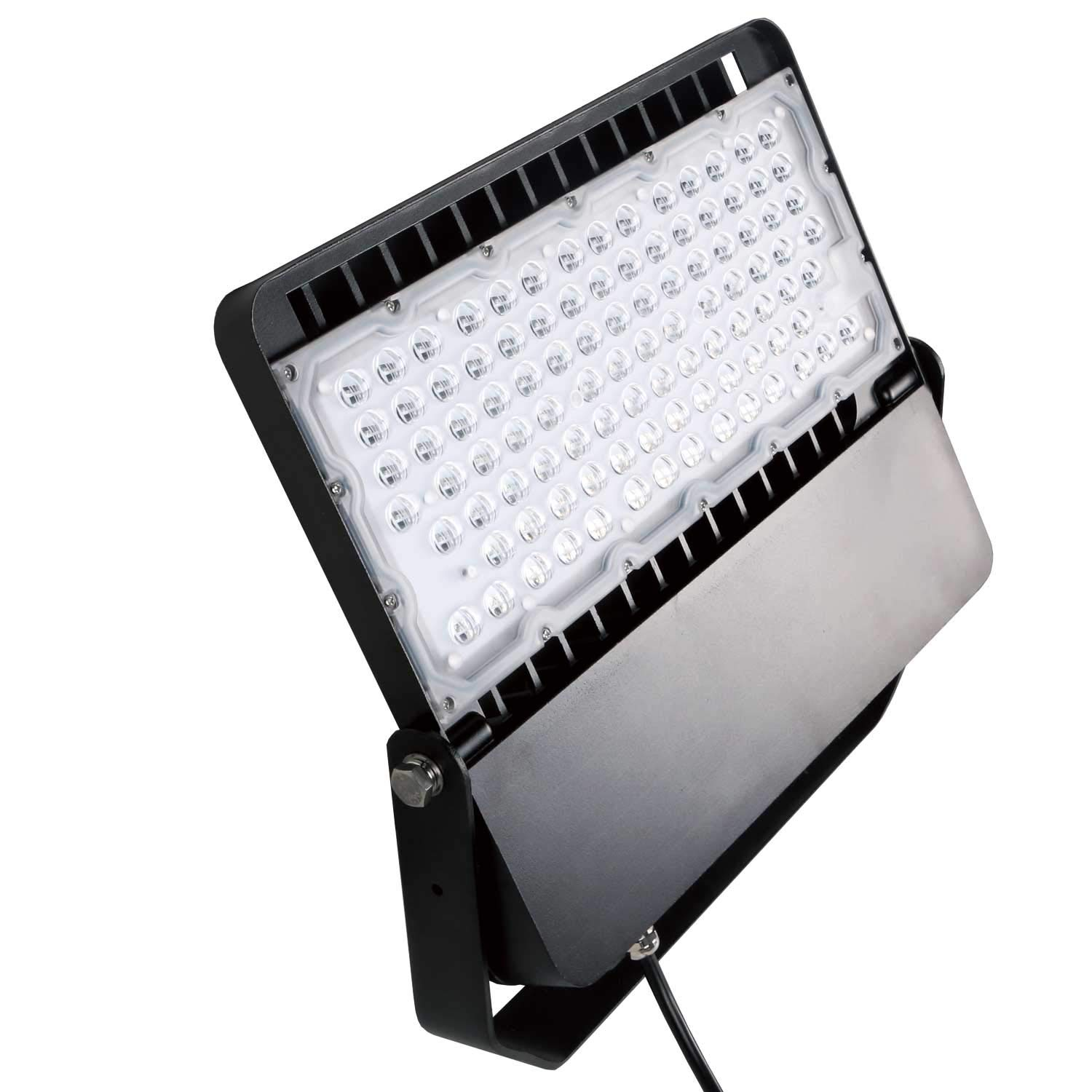 AntLux LED Flood Light 200W, Super Bright Stadium Lights, Outdoor Parking Lot Shoebox Arena Perimeter and Security Lighting fixtures, (1200W Equivalent), 26000LM, 5000K, IP66 Waterproof LED Floodlight