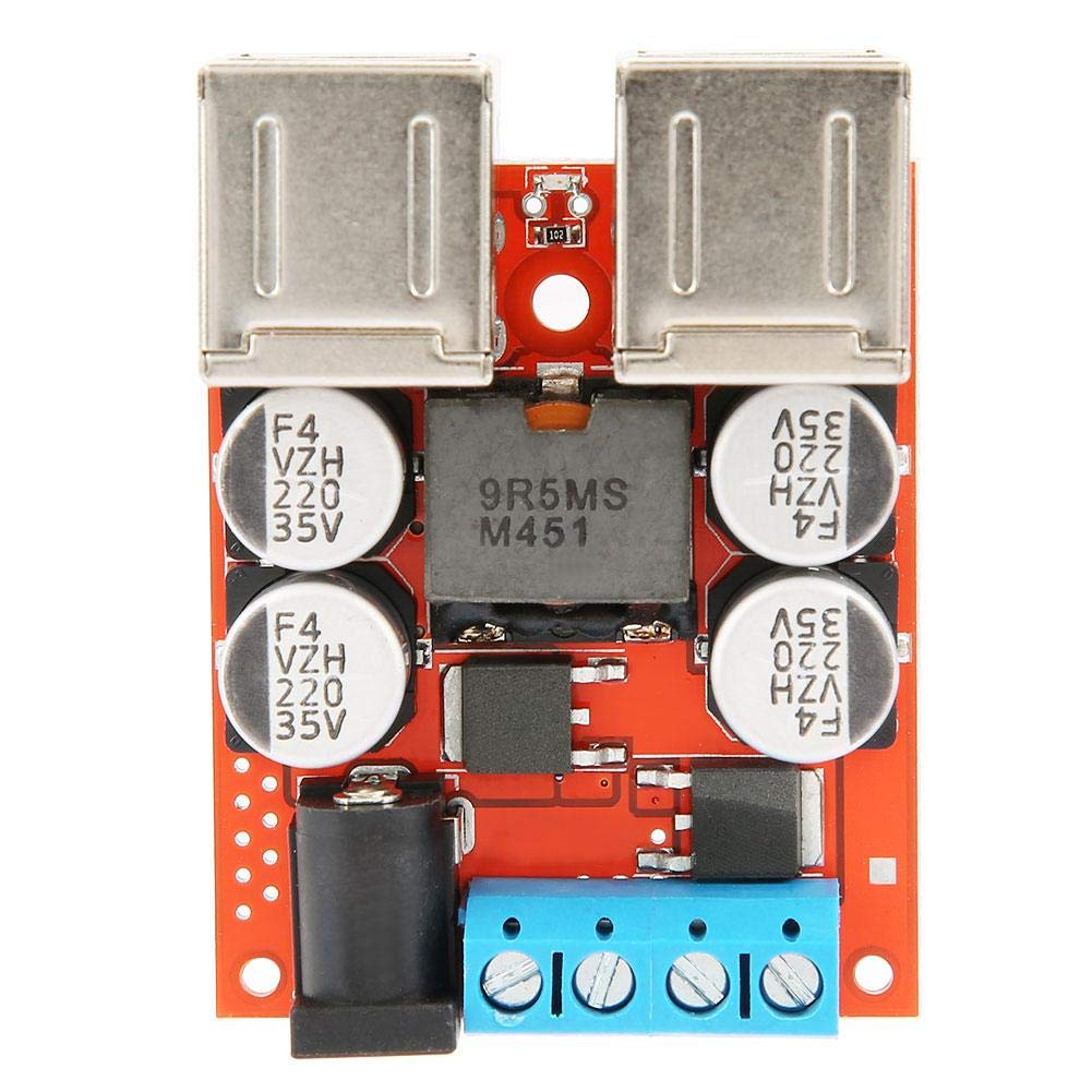 DC-DC Wandler Spannung Step Down Power Buck Modul Auto 12V 24V 8-35V bis 5V 8A 4 USB-Ladeger/ät