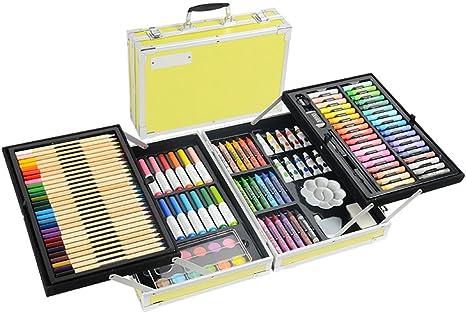 MTTLS Kit De Arte Profesional Diseño De Doble Capa Kit De Arte De Lápices De Colores