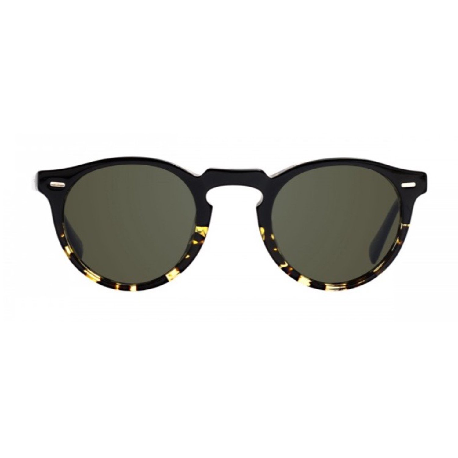 04207dd5af Oliver Peoples OV5217S 1178P1 Sun Black Tortoise Gregory Peck Sun Round  Sungl  Amazon.co.uk  Clothing