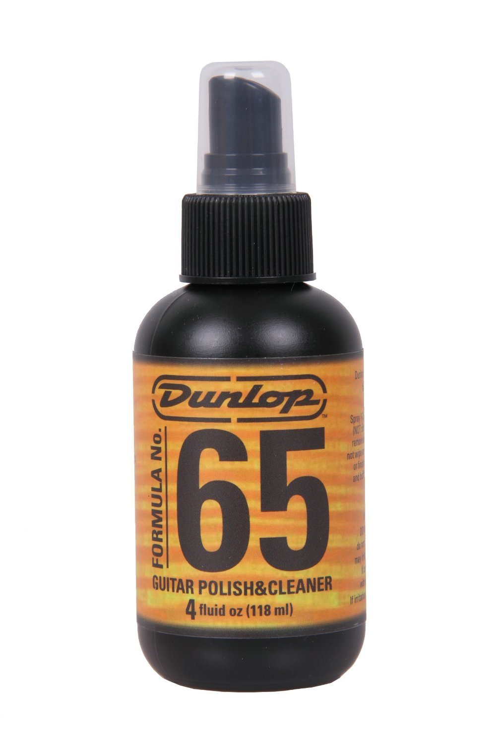 Dunlop Formula 65 Guitar Polish and Cleaner, 4 Fluid Ounces 654