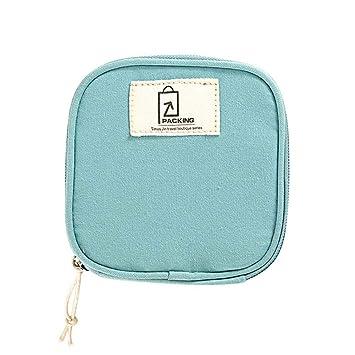 Amazon.com: Mini estuche de maquillaje, bolsa de maquillaje ...