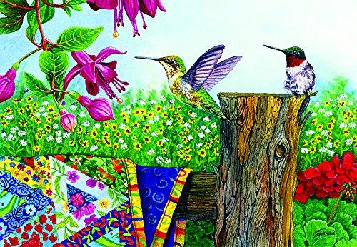 Stitchin' Post 500 Piece Jigsaw Puzzle by SunsOut