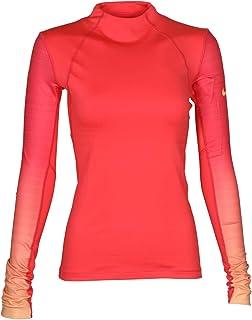 d9c2b0de4ef186 Amazon.com  NIKE Women s Pro Hyperwarm Long Sleeve 1 2 Zip Top ...