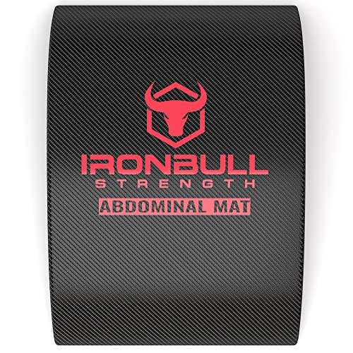 Abdominal Mat for Full Range of Motion Crunches Exercise Ab Mat Sit Up Support Pad Abdominal Trainer
