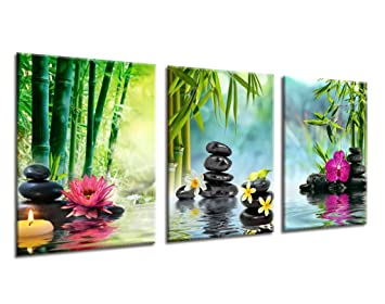 canvas art prints spa and zen art picture framed ready to hang for home