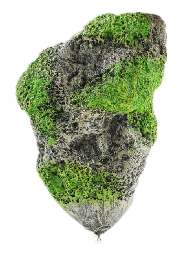 Hewnda Aquarium Decorated - with Suspended Rock - Floating Moss Rock Resin Stone - Fish Tank Decorated Rock, Aquarium Rock Magic Hallelujah Floating Garden Reconstruction Pandora (Medium Number) by Hewnda