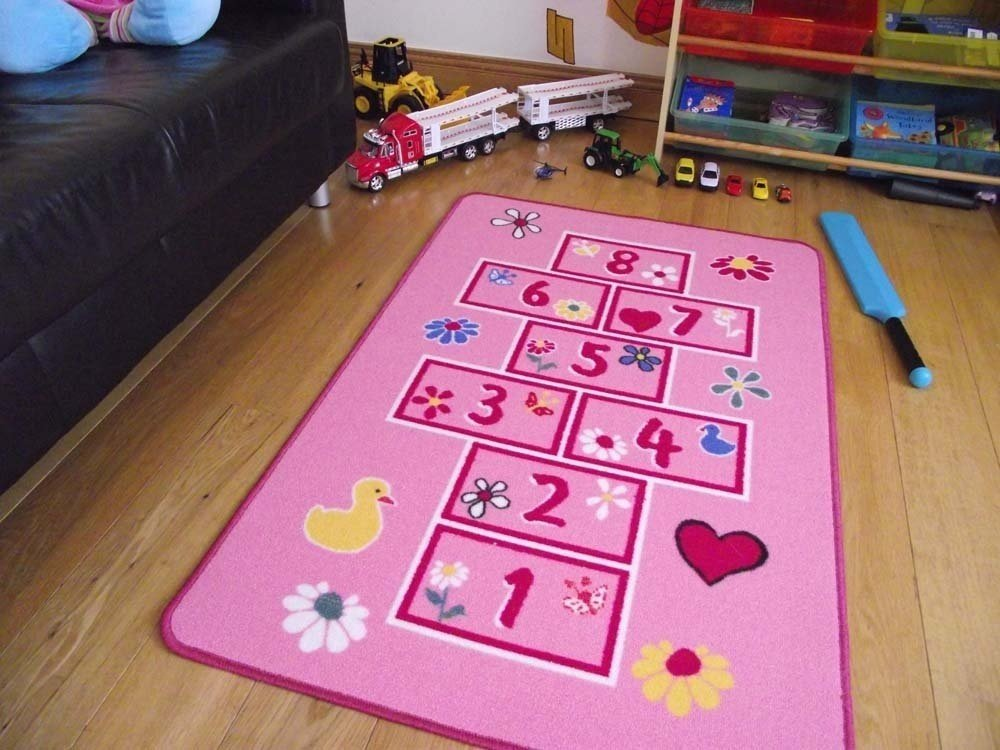 A2Z 4 Kids® Childrens Large Hopscotch Play Mat. Size 80cm x 120cm Rugs Supermarket