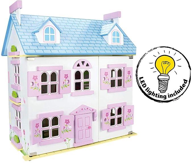 Villa Puppenhaus Bestseller - Leomark Alpine Puppenvilla