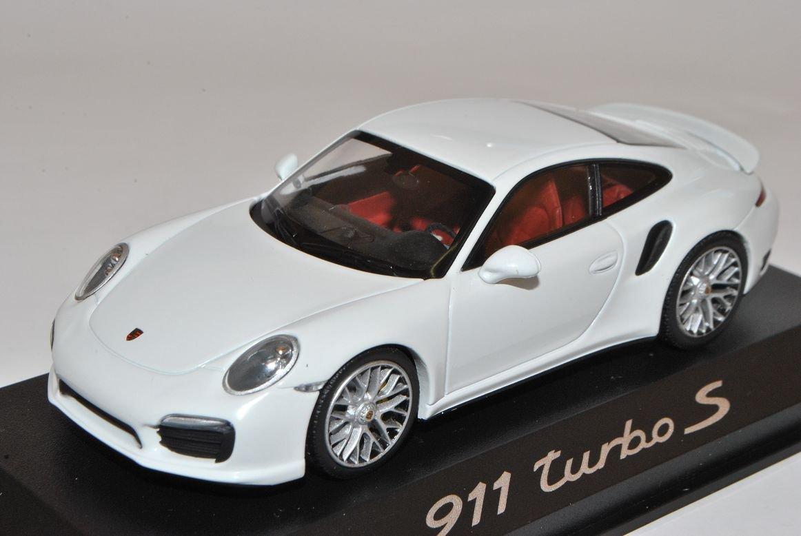 Minichamps Porsche 911 991 Coupe Turbo S Weiss Ab Ab Ab 2012 1/43 Modell Auto mit individiuellem Wunschkennzeichen 6c516e