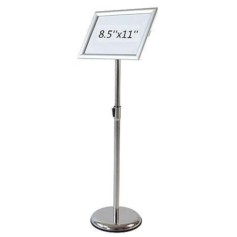 Amazon.com: aboutdisplay Pedestal Soporte De Letrero soporte ...