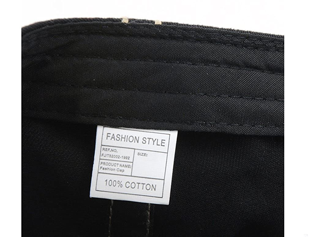 TJBGADIEMS Adjustable Back Belt Breathable Flat Beret Cap with Colorful Pattern