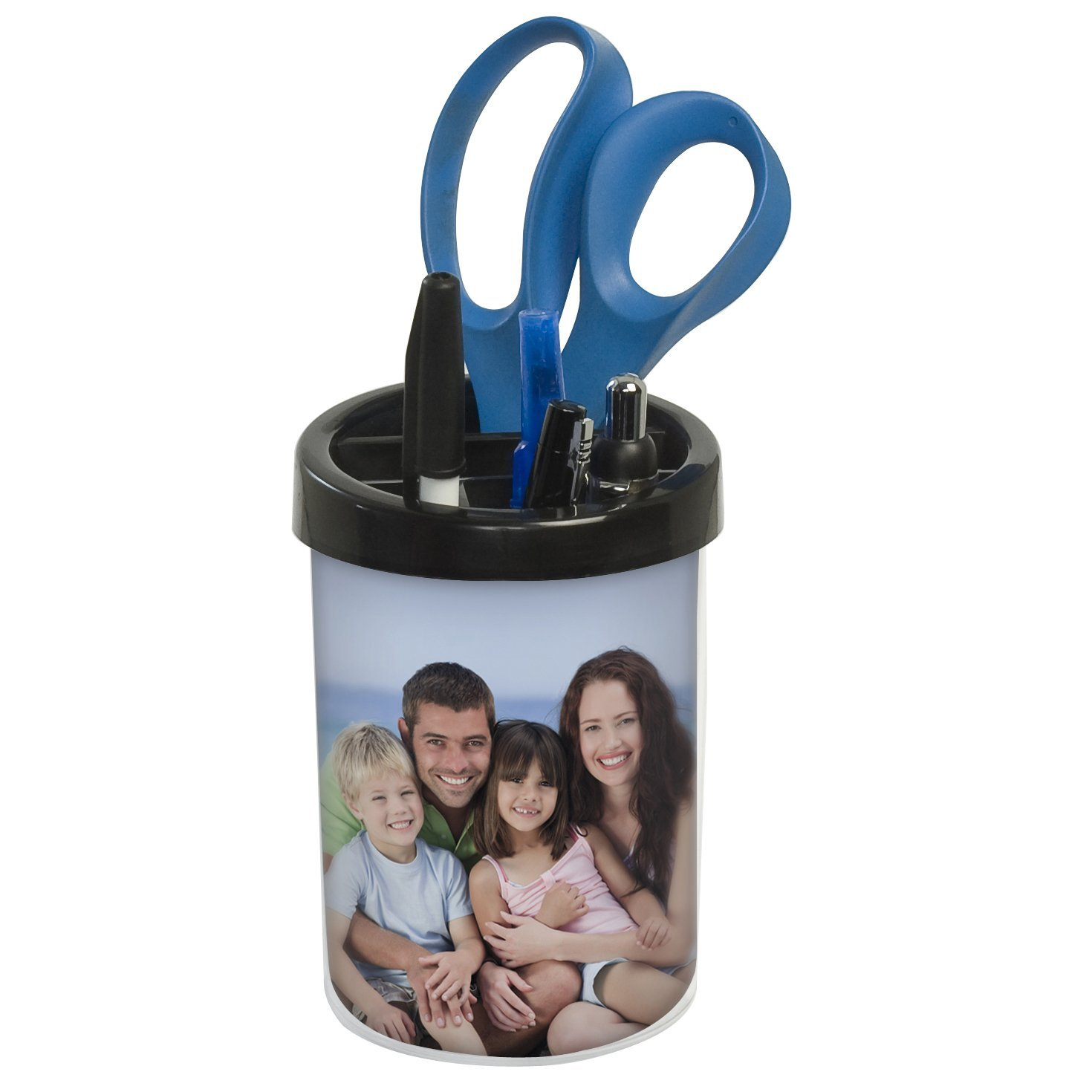 Black Photo Pencil Cup - Pack of 50