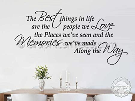 ecff739890b4 Graphics  n  Tees - Family Wall Sticker Inspirational Quote