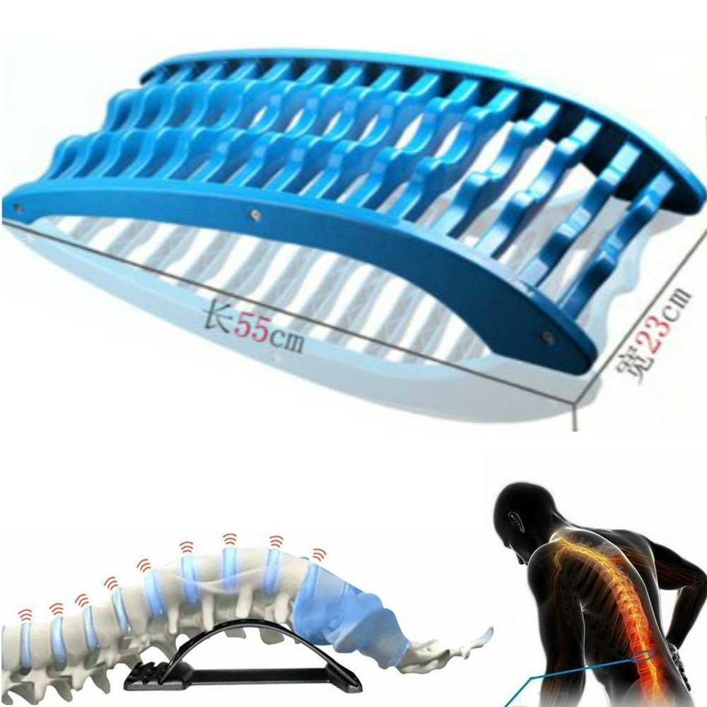 Enshey Stretch Relax Mate Orthopedic Back Magic Massager Stretcher Fitness Equipment Stretch Spine Relax Mate Tools