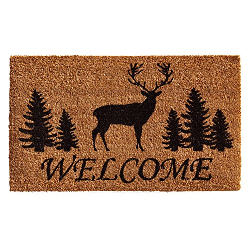 Home & More 121682436 Elk Forest Welcome Doormat, 24