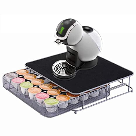 Jjonlinestore- 36 Coffee Pods Dolce Gusto Coffee Capsule Drawer Storage