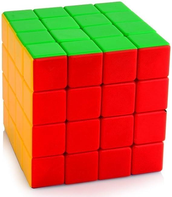 Emob Cube High Speed Sticker-Less Problem Solving Cubes (4x4x4)